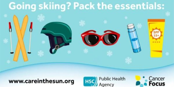 Stay sun safe on snow and sand