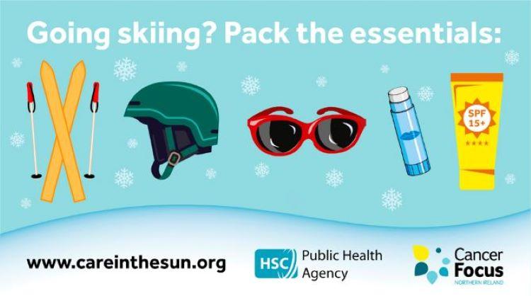 Stay sun safe on your winter break